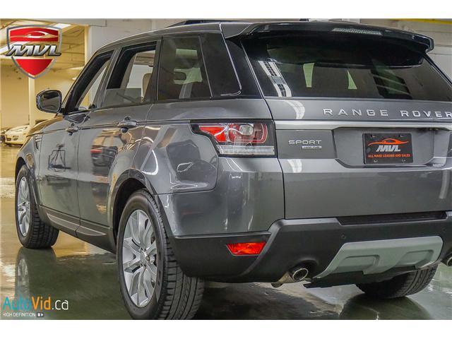 2016 Land Rover Range Rover Sport DIESEL Td6 HSE (Stk: ) in Oakville - Image 2 of 40