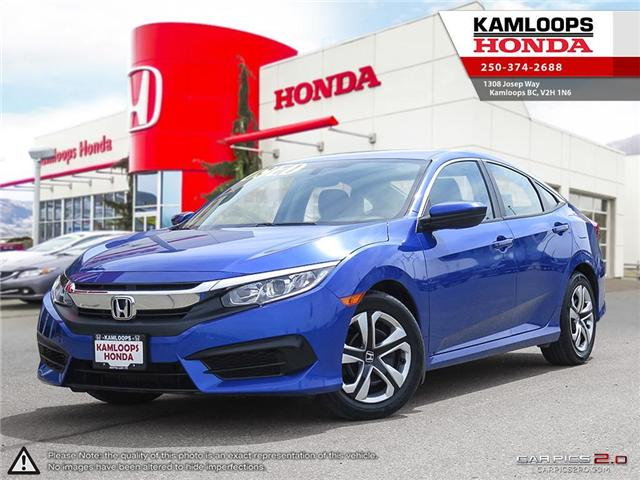 2016 Honda Civic LX (Stk: 13983A) in Kamloops - Image 1 of 23