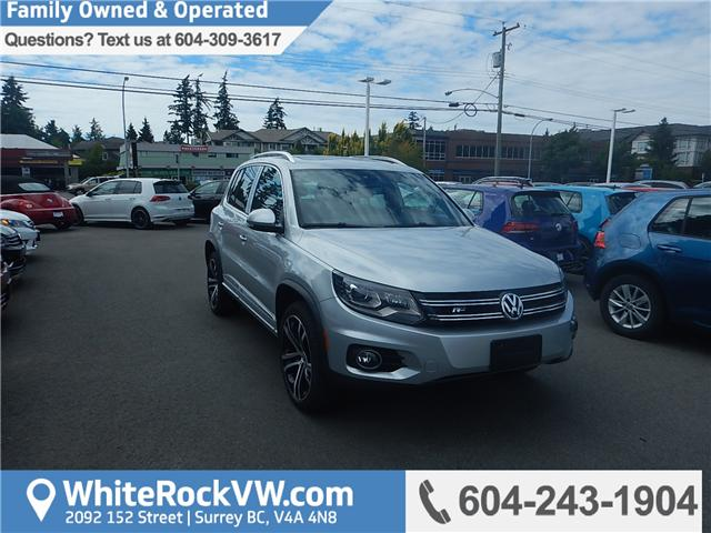 2017 Volkswagen Tiguan Highline (Stk: HT020785) in Surrey - Image 1 of 26