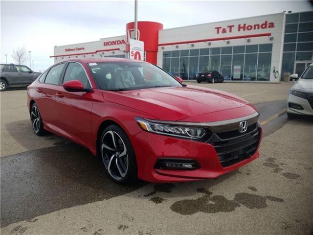 2018 Honda Accord Sport (Stk: 2180762) in Calgary - Image 1 of 9