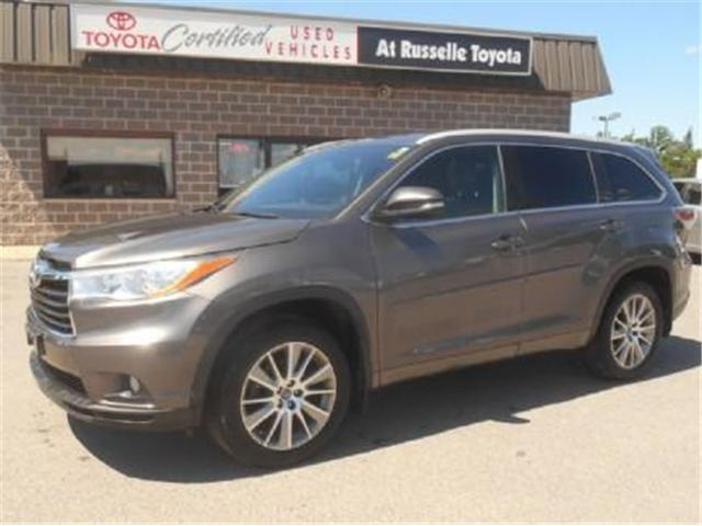 2016 Toyota Highlander  (Stk: U7197) in Peterborough - Image 1 of 11