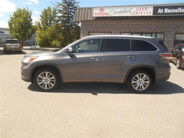 2016 Toyota Highlander  (Stk: U7197) in Peterborough - Image 2 of 11
