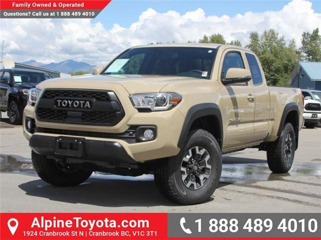 2018 Toyota Tacoma TRD Off Road (Stk: X147404) in Cranbrook - Image 1 of 18