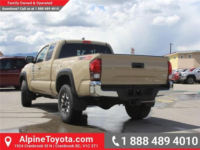 2018 Toyota Tacoma TRD Off Road (Stk: X147404) in Cranbrook - Image 3 of 18