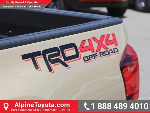 2018 Toyota Tacoma TRD Off Road (Stk: X147404) in Cranbrook - Image 17 of 18