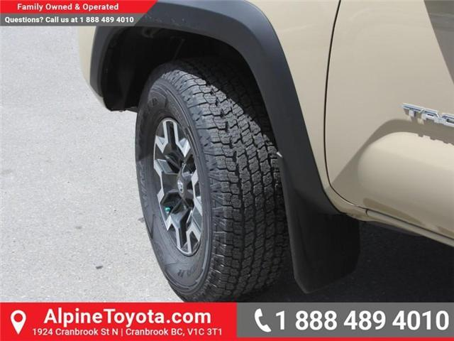 2018 Toyota Tacoma TRD Off Road (Stk: X147404) in Cranbrook - Image 18 of 18