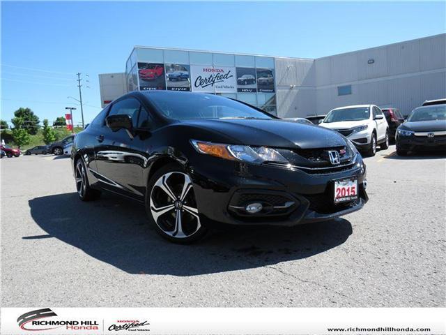 2015 Honda Civic Si (Stk: 180335P) in Richmond Hill - Image 1 of 18