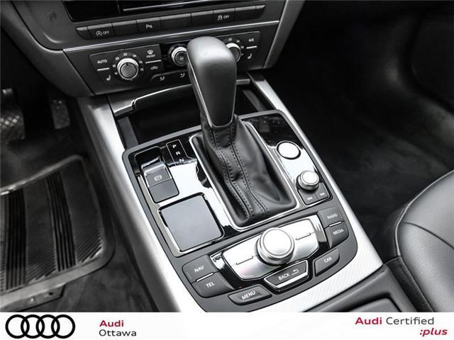 2017 Audi A6 2.0T Progressiv (Stk: 51420A) in Ottawa - Image 20 of 22