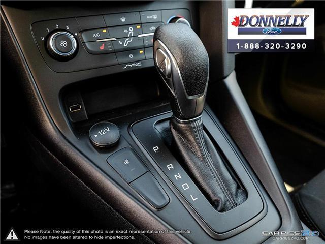 2018 Ford Focus SE (Stk: DR1041) in Ottawa - Image 19 of 27