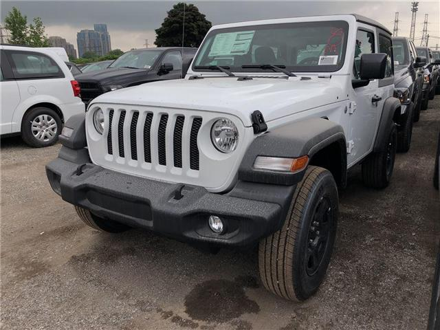 2018 Jeep Wrangler Sport (Stk: JW208205) in Mississauga - Image 1 of 5