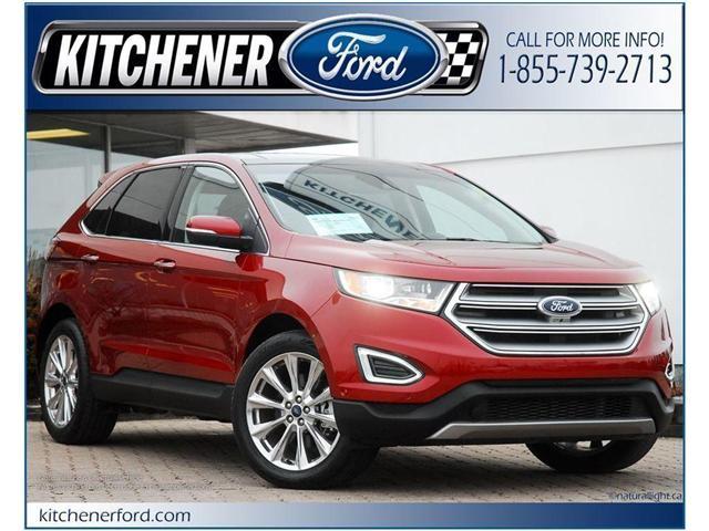 2017 Ford Edge Titanium (Stk: 144490J) in Kitchener - Image 1 of 22