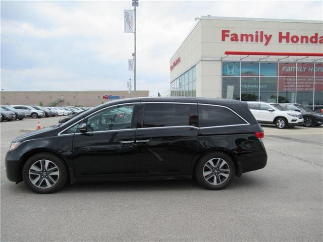 2015 Honda Odyssey Touring, FULLY LOADED!! (Stk: 8508216A) in Brampton - Image 2 of 22