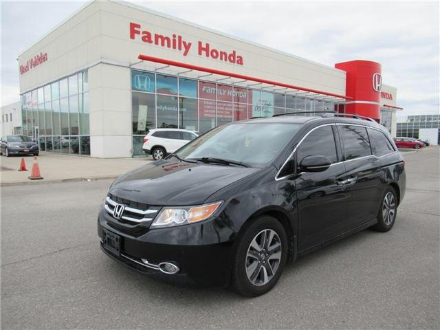 2014 Honda Odyssey Touring, FULLY LOADED! WOW (Stk: 9500096A) in Brampton - Image 1 of 25