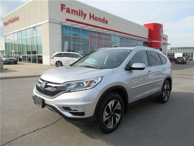 2016 Honda CR-V Touring, FULLY LOADED! WITH EXTRAS! (Stk: 8132667A) in Brampton - Image 1 of 28