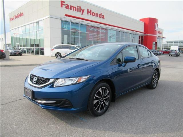 2015 Honda Civic EX, FREE COMPREHENSIVE WARRANTY! (Stk: 8013136A) in Brampton - Image 1 of 26