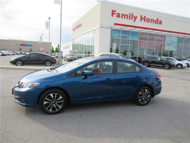 2015 Honda Civic EX, FREE COMPREHENSIVE WARRANTY! (Stk: 8013136A) in Brampton - Image 2 of 26