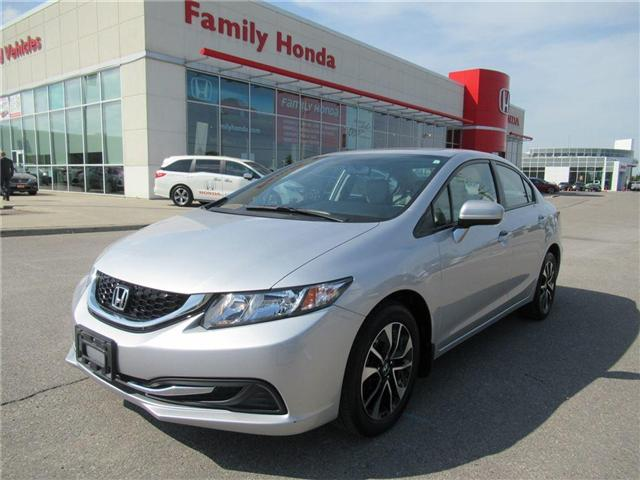 2015 Honda Civic EX, BACK UP CAM, ECO MODE! (Stk: 8807855A) in Brampton - Image 1 of 27