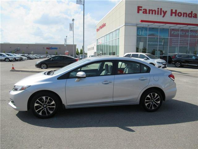 2015 Honda Civic EX, BACK UP CAM, ECO MODE! (Stk: 8807855A) in Brampton - Image 2 of 27