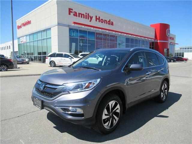 2015 Honda CR-V Touring, LOADED! LOW KMS! (Stk: 8006608A) in Brampton - Image 1 of 29