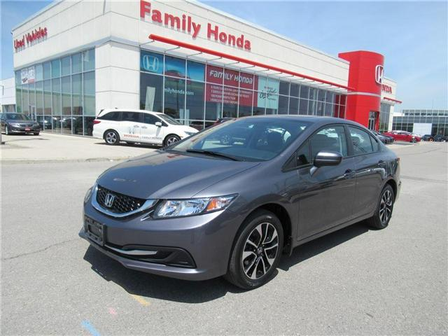 2015 Honda Civic EX, BACK UP AND LANE CAMERAS! (Stk: 8132995A) in Brampton - Image 1 of 30