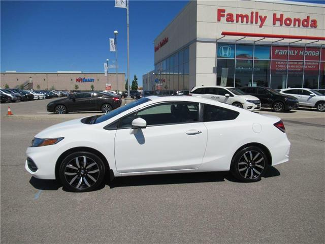 2015 Honda Civic EX-L Navi, SO CLEAN! (Stk: 8450912A) in Brampton - Image 2 of 23