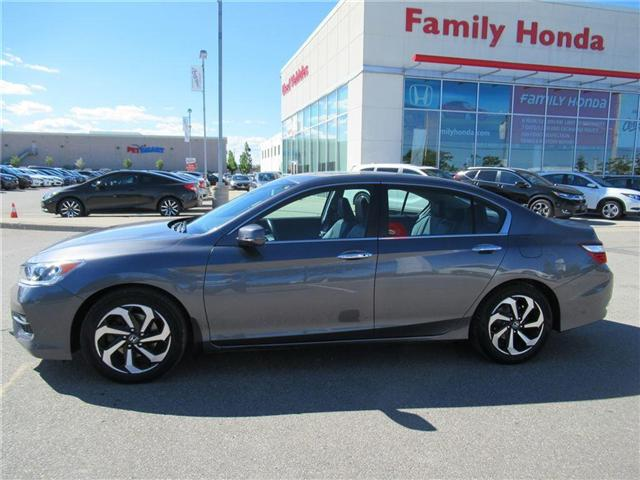 2016 Honda Accord EX-L, LEATHER, BACK UP CAM! (Stk: 8808896A) in Brampton - Image 2 of 29