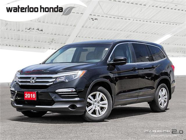 2016 Honda Pilot LX (Stk: H3867A) in Waterloo - Image 1 of 28