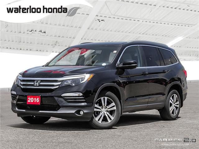 2016 Honda Pilot EX-L Navi (Stk: U4021) in Waterloo - Image 1 of 28