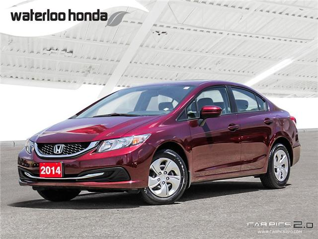 2014 Honda Civic LX (Stk: U3963) in Waterloo - Image 1 of 28