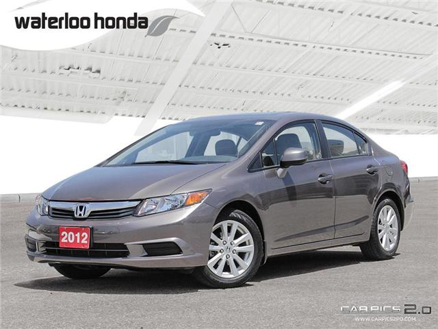 2012 Honda Civic EX (Stk: U3966) in Waterloo - Image 1 of 28