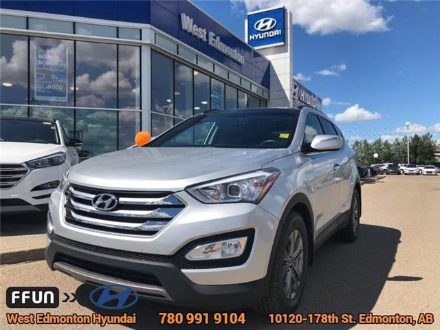 2015 Hyundai Santa Fe Sport  (Stk: 87658A) in Edmonton - Image 1 of 24