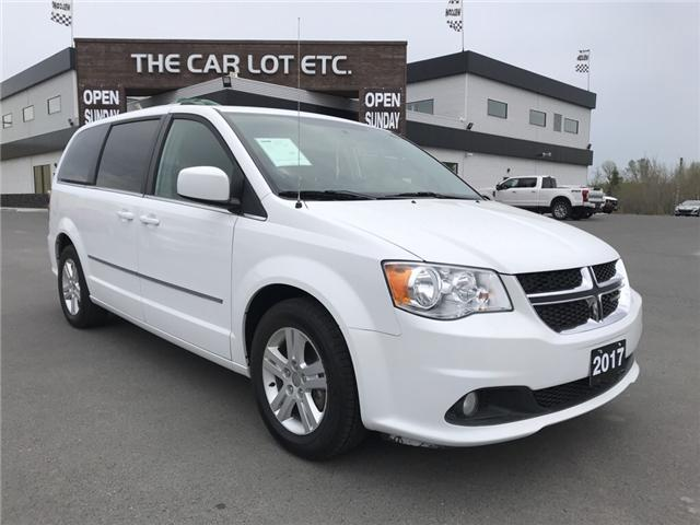 2017 Dodge Grand Caravan Crew (Stk: 18239) in Sudbury - Image 1 of 13