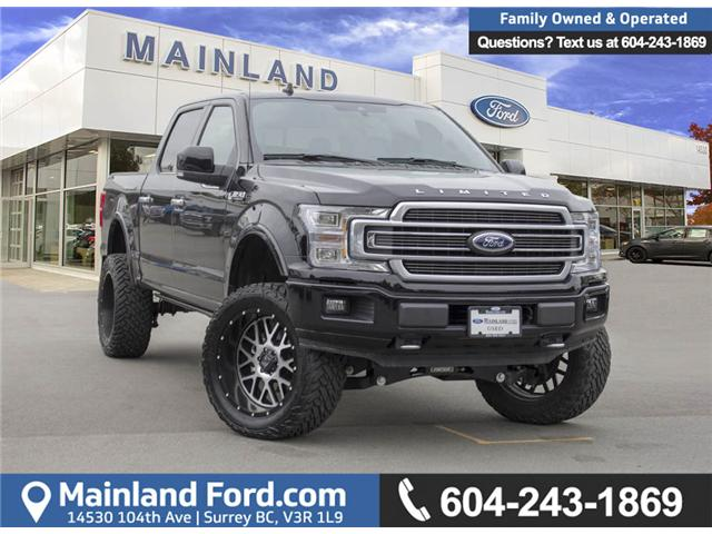 2018 Ford F-150 Limited (Stk: P2496) in Surrey - Image 1 of 30