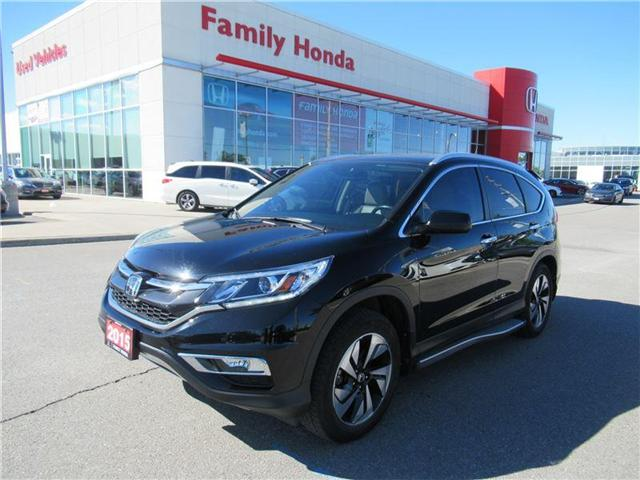 2015 Honda CR-V Touring, FULLY LOADED, WITH EXTRAS!! (Stk: 8501503A) in Brampton - Image 1 of 28