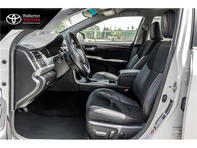 2016 Toyota Camry XSE (Stk: 18346A) in Walkerton - Image 10 of 20