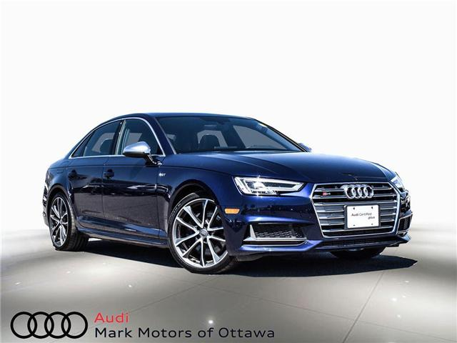 2018 Audi S4 3.0T Progressiv (Stk: 89934) in Nepean - Image 1 of 30