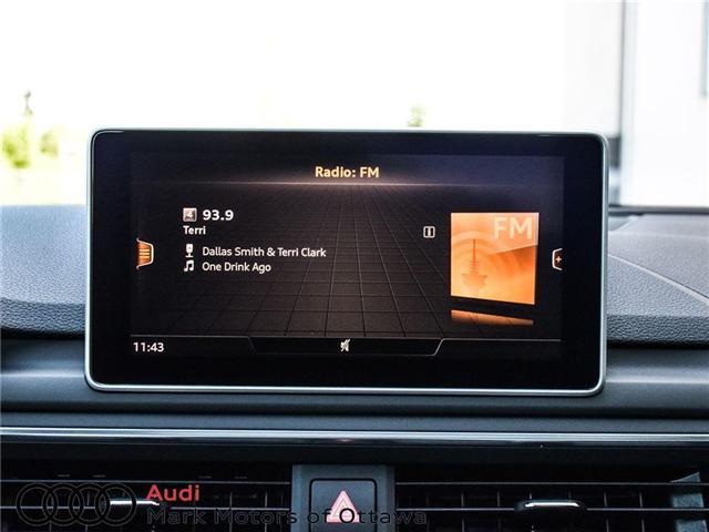 2018 Audi S4 3.0T Progressiv (Stk: 89934) in Nepean - Image 20 of 30