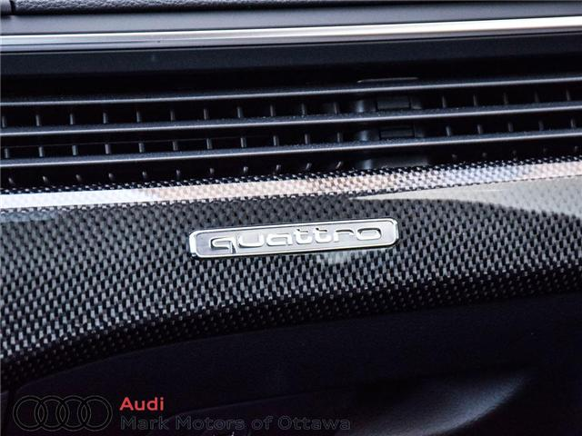 2018 Audi S4 3.0T Progressiv (Stk: 89934) in Nepean - Image 25 of 30
