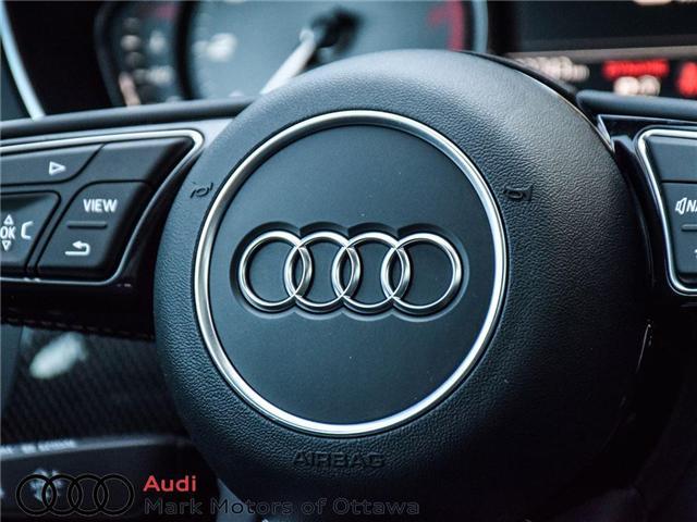 2018 Audi S4 3.0T Progressiv (Stk: 89934) in Nepean - Image 27 of 30