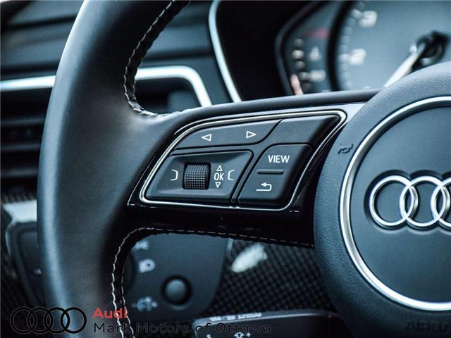 2018 Audi S4 3.0T Progressiv (Stk: 89934) in Nepean - Image 28 of 30