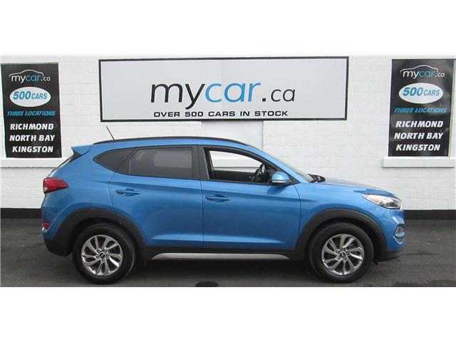 2017 Hyundai Tucson SE (Stk: 180737) in Kingston - Image 1 of 14
