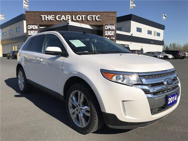 2014 Ford Edge Limited (Stk: 18060) in Sudbury - Image 1 of 13