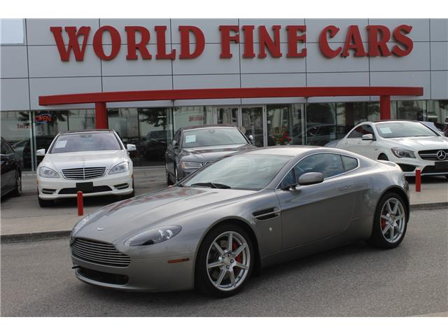 2007 Aston Martin Vantage 6 Speed Low Km At 57800 For Sale In
