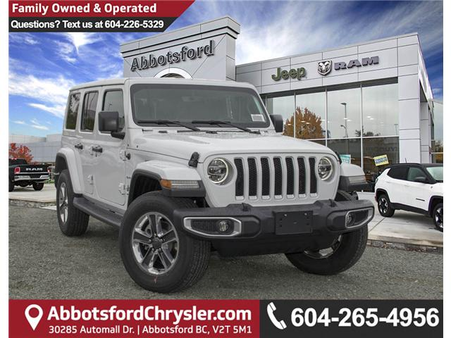2018 Jeep Wrangler Unlimited Sahara (Stk: J174874) in Abbotsford - Image 1 of 27