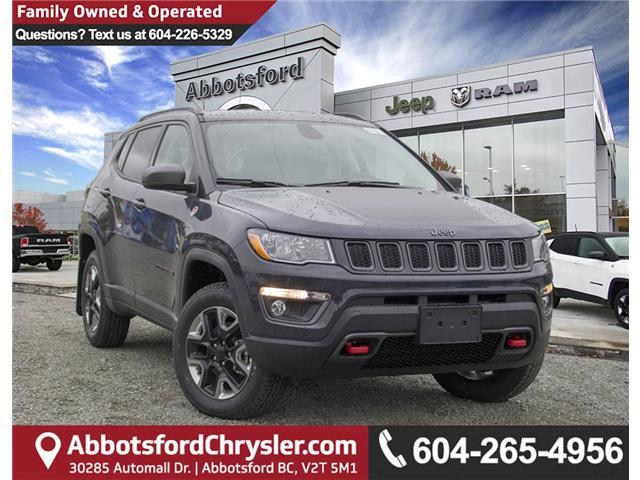 2018 Jeep Compass Trailhawk (Stk: J376604) in Abbotsford - Image 1 of 25