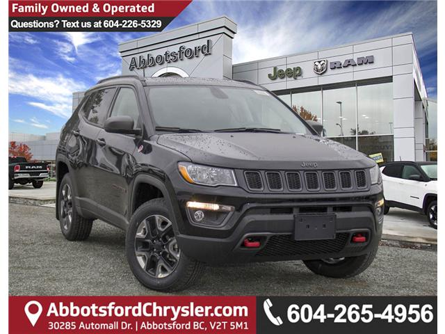 2018 Jeep Compass Trailhawk (Stk: J404095) in Abbotsford - Image 1 of 27