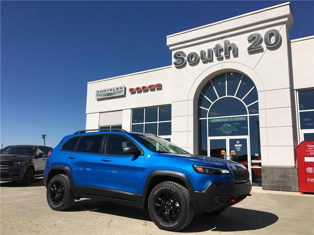 2019 Jeep Cherokee Trailhawk (Stk: 32119) in Humboldt - Image 1 of 22