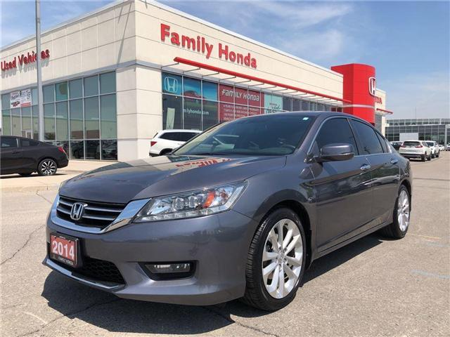 2014 Honda Accord Touring, FULLY LOADED!! (Stk: 8125796A) in Brampton - Image 1 of 14