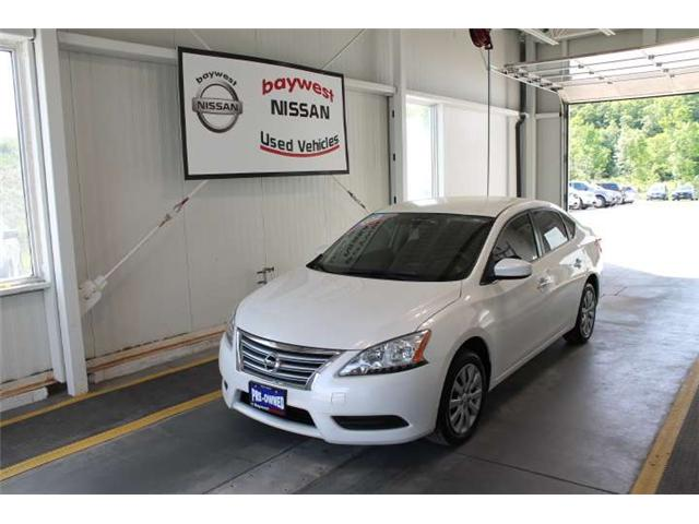 2014 Nissan Sentra 1.8 S (Stk: P0580) in Owen Sound - Image 1 of 14