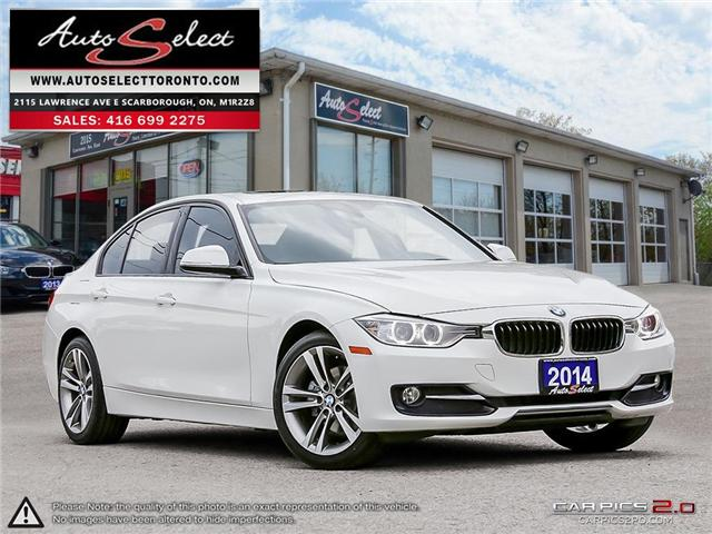 2014 BMW 320i xDrive (Stk: 14QS91P2) in Scarborough - Image 1 of 28